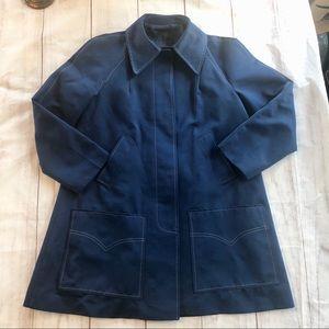 Forecaster of Boston Jacket Coat Vintage Navy